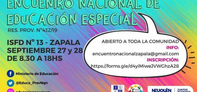Primer Encuentro Nacional de Educación Especial