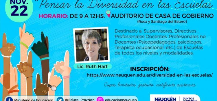 """Conferencia """"Pensar la diversidad en las escuelas"""""""