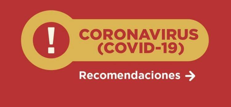 Coronavirus: Recomendaciones para establecimientos escolares
